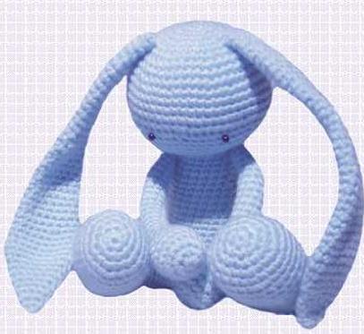 Заяц амигурум. Схема вязания